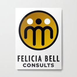 Felicia Bell Consultants Metal Print