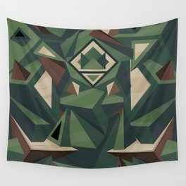 _Camouflage Wall Tapestry