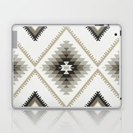 Beige Aztec Laptop & iPad Skin