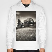 budapest hotel Hoodies featuring Hotel by DistinctyDesign