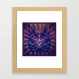 The Cosmic Bear Framed Art Print
