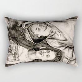 Hjernen er alene Rectangular Pillow