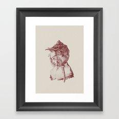 Haute Coiffure  /#7 Framed Art Print