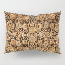 Antique Persian Malayer Rug Print Pillow Sham