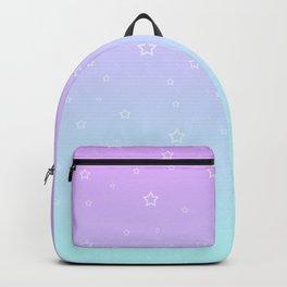 Purple kawaii cute aesthetic Backpack