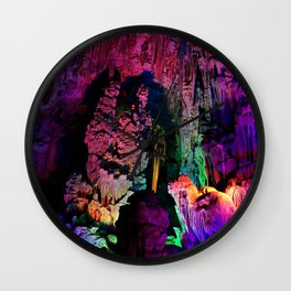 IDYLLIC FAIRYLAND // Reed Flute Cave, Guilin Wall Clock