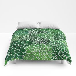 Floral Abstract 23 Comforters