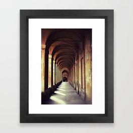 Portico di San Luca Framed Art Print