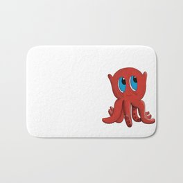 Bloop the friendly octopus Bath Mat