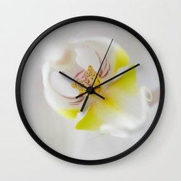 Orchid V Wall Clock