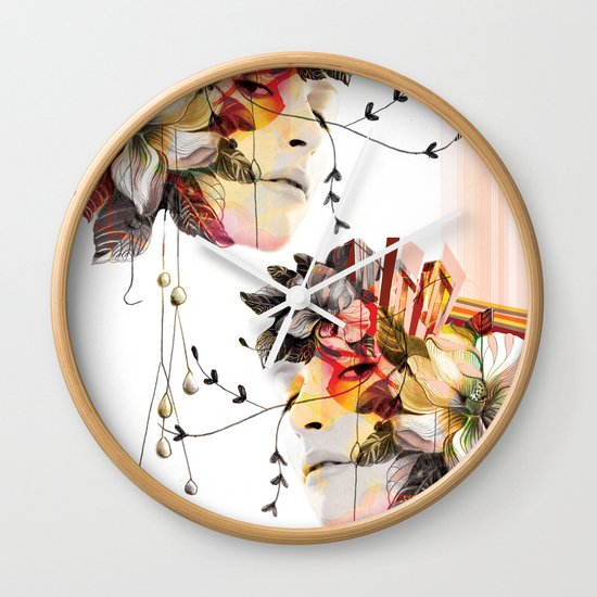 Double Vision 2 Wall Clock