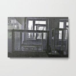 Chernobyl - дитячого відділення Metal Print