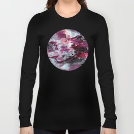 Raspberry Marble Long Sleeve T-shirt