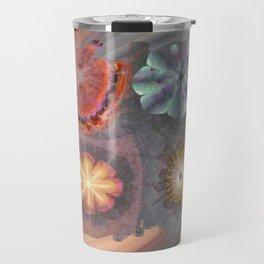 Absenters Intermixture Flower  ID:16165-065456-80170 Travel Mug