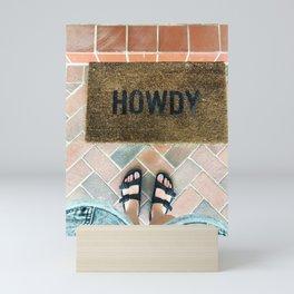 Howdy! Mini Art Print