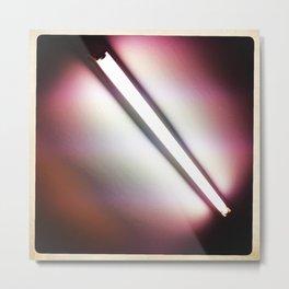 Fluorescent Metal Print
