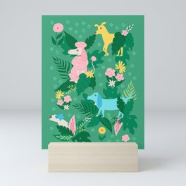 Stop and Sniff the Flowers Mini Art Print