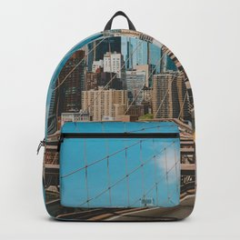 The Bridge in New York City (Color) Backpack