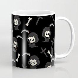 Cute Grim Reaper Pattern Coffee Mug