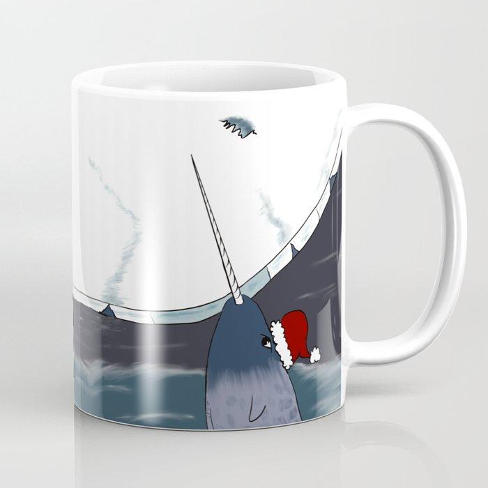 A Narwhal For Christmas Coffee Mug