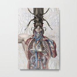Mr Self Destruct Metal Print