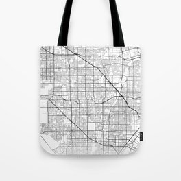 Minimal City Maps - Map Of Garden Grove, California, United States Tote Bag