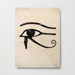 Eye of Horus Art Print Metal Print