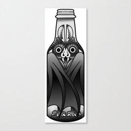 bottle bat Canvas Print
