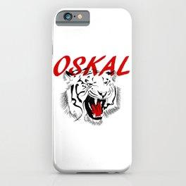 Oskal Tiger Tattoo iPhone Case