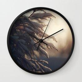 Winter Morn Wall Clock