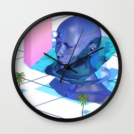 Abstract Landscape_3 Wall Clock