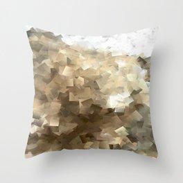 Geometric Pattern Coast Print Throw Pillow