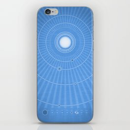 Solar System Cool iPhone Skin