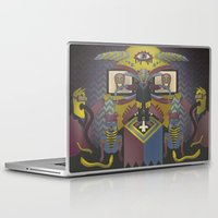 religion Laptop & iPad Skins featuring It's religion, baby by Andrea Moresco