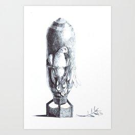Threat to Peace Art Print