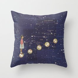 Journey to discovering you Throw Pillow