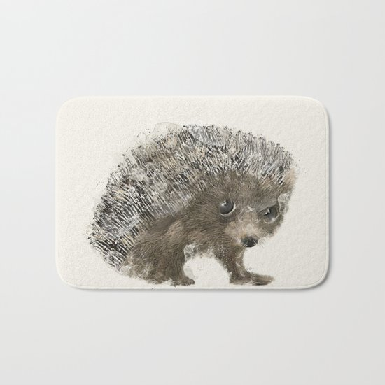 little hedgehog Bath Mat