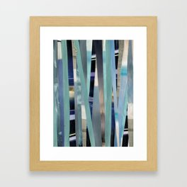 Sea(scapes)stripes Framed Art Print