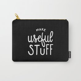 Make useful stuff #2 Carry-All Pouch