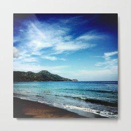 COSTA RICAN BEACH Metal Print