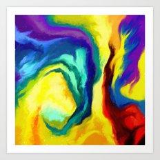 Grasp Art Print