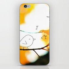 tweet iPhone & iPod Skin