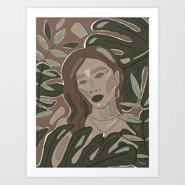 Jungle dream  Art Print