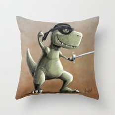 I'm Not Really Left Handed Throw Pillow