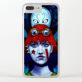 Molly and Spirit Clear iPhone Case