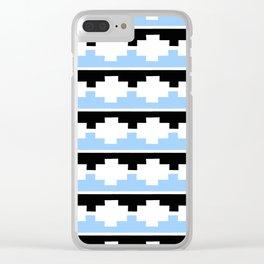 Heraldic – embattled grady- Coupé pigeonné 2 Clear iPhone Case