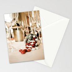 CELEBRATE (STILL LIFE - Wine Glasses - M&M's - Zinc Bucket) Stationery Cards