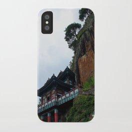 Temple Sasung 7 iPhone Case