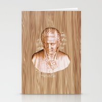 mozart Stationery Cards featuring Mozart by Arts and Herbs
