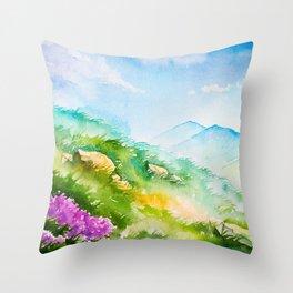 Spring scenery #7 Throw Pillow